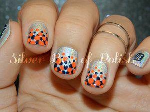 Detroit tigers nails nails pinterest tiger nails detroit detroit tigers nails prinsesfo Images