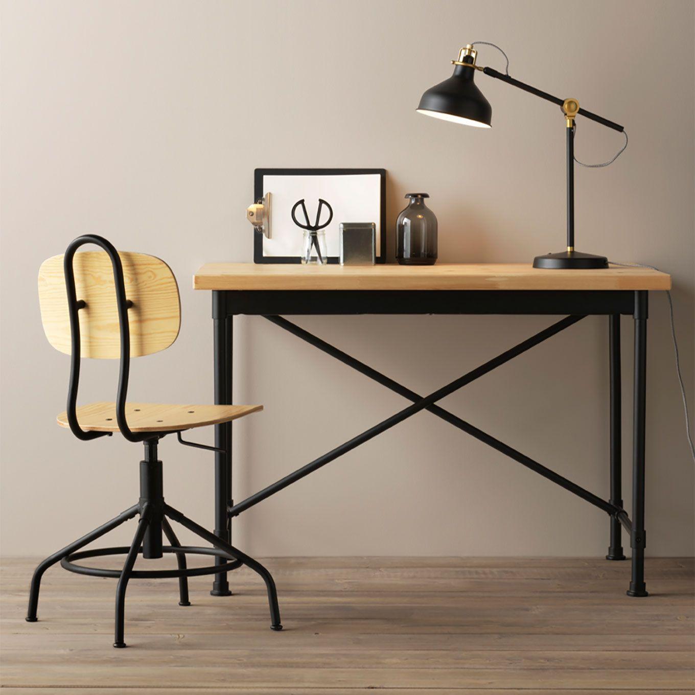 Schreibtisch ikea  IKEA KULLABERG - Industrieller Schreibtisch | My future home ...