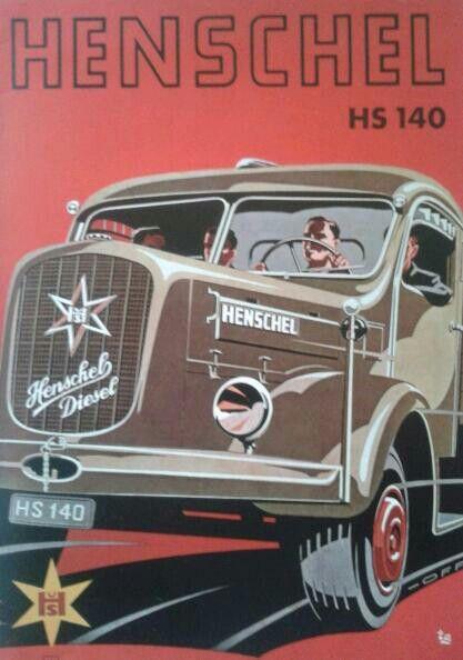 Henschel HS140 1953 brochure