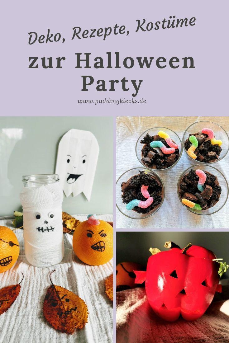 So Wird Die Halloween Party Der Kracher Ideen Zu Deko Essen Und Kostumen Puddingklecks Halloween Party Kinder Halloween Party Ideen Kinder Ideen Furs Essen