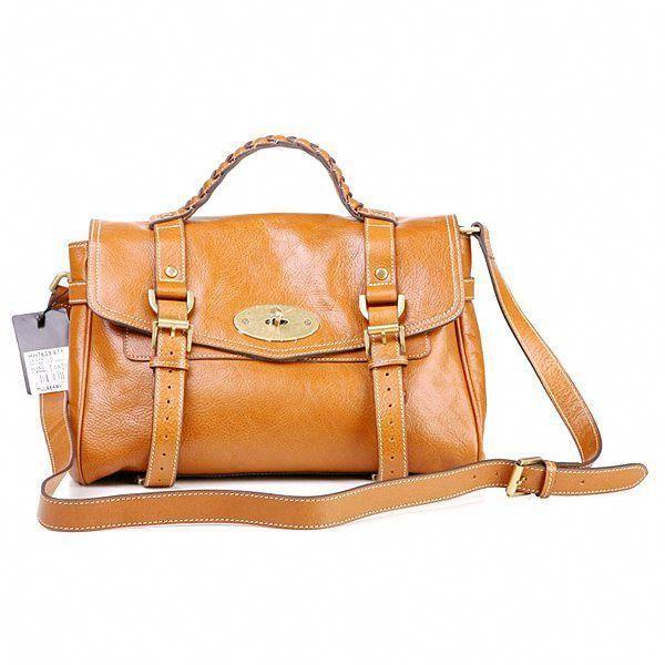 Mulberry Standard Alexa Leather Satchel Bag Camel  Burberryhandbags ... 59be6422ae041