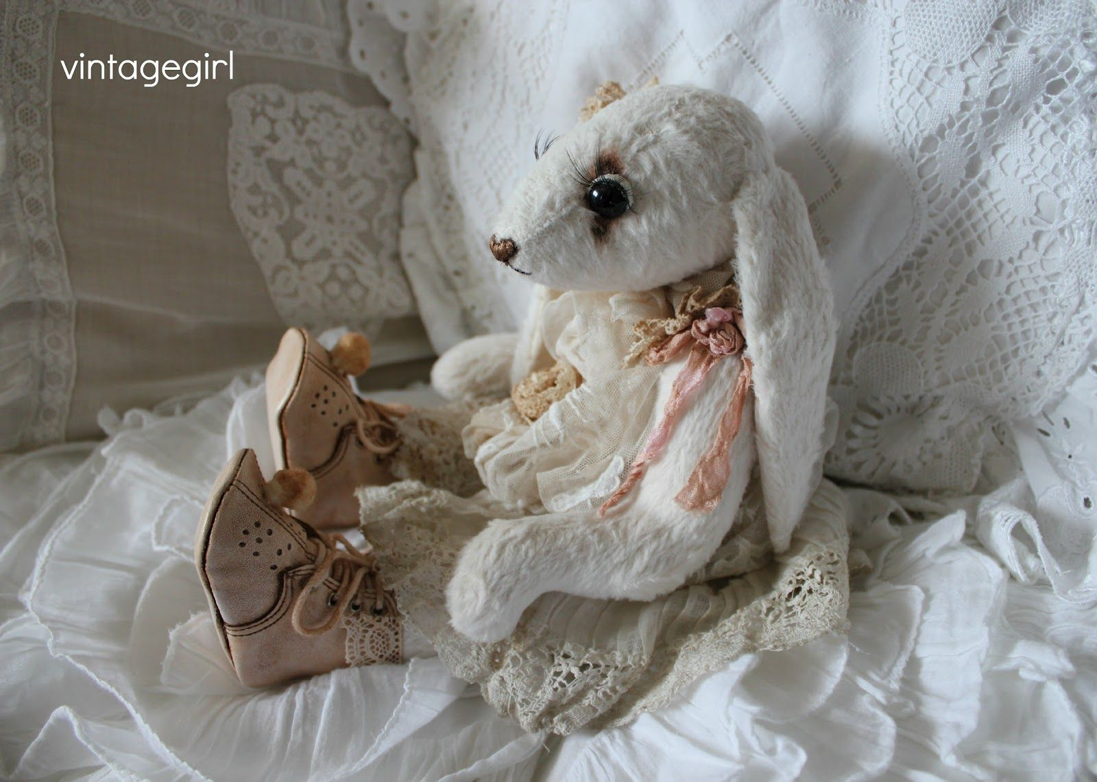 From Vintage Girl - I love the little shoes
