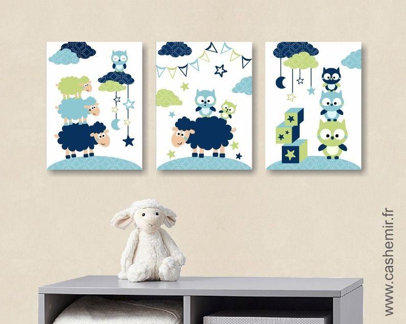 Illustration Pour Enfant Garcon Decoration Chambre Bebe Affiche
