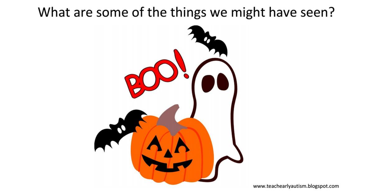 halloween adapted book.pdf Summarizing activities