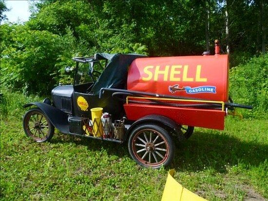 1920 S Ford Model T Shell Oil Delivery Truck Pickup Trucks