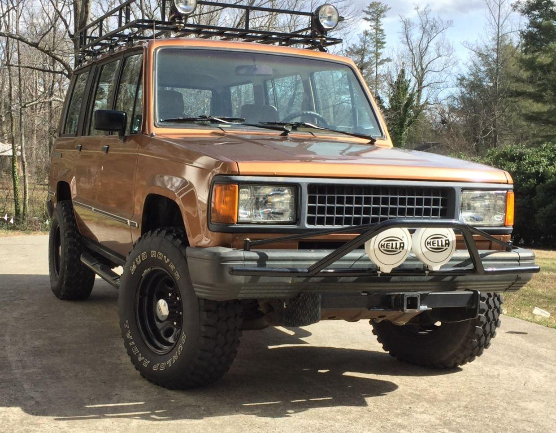 Modified 1988 Isuzu Trooper In 2020 Trooper Classic Cars Online Truck Camping