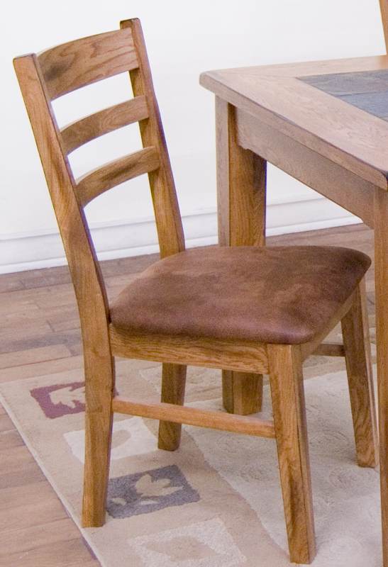 Sedona Ladderback Chair With Cushion Ladder Back Chairs