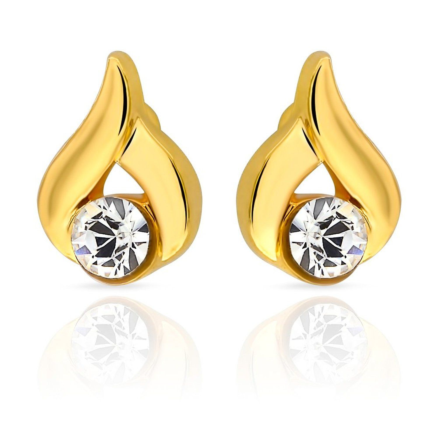 solid weekend daily ct pin earrings diamond real certified wear designs gold