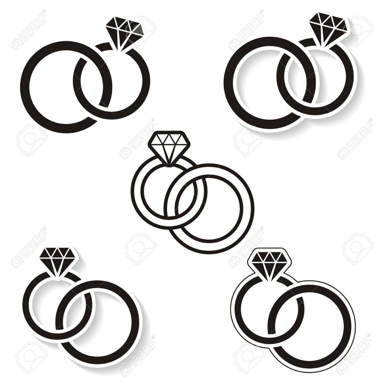 Clip Art Wedding Rings Drawing Coole Trauringe Schwarze Trauringe Gravur Ehering