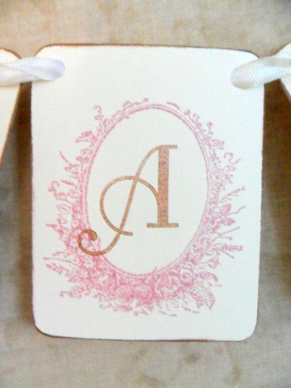 Paper Banner Garland Name Saying Made to Order by FlourishingAgain