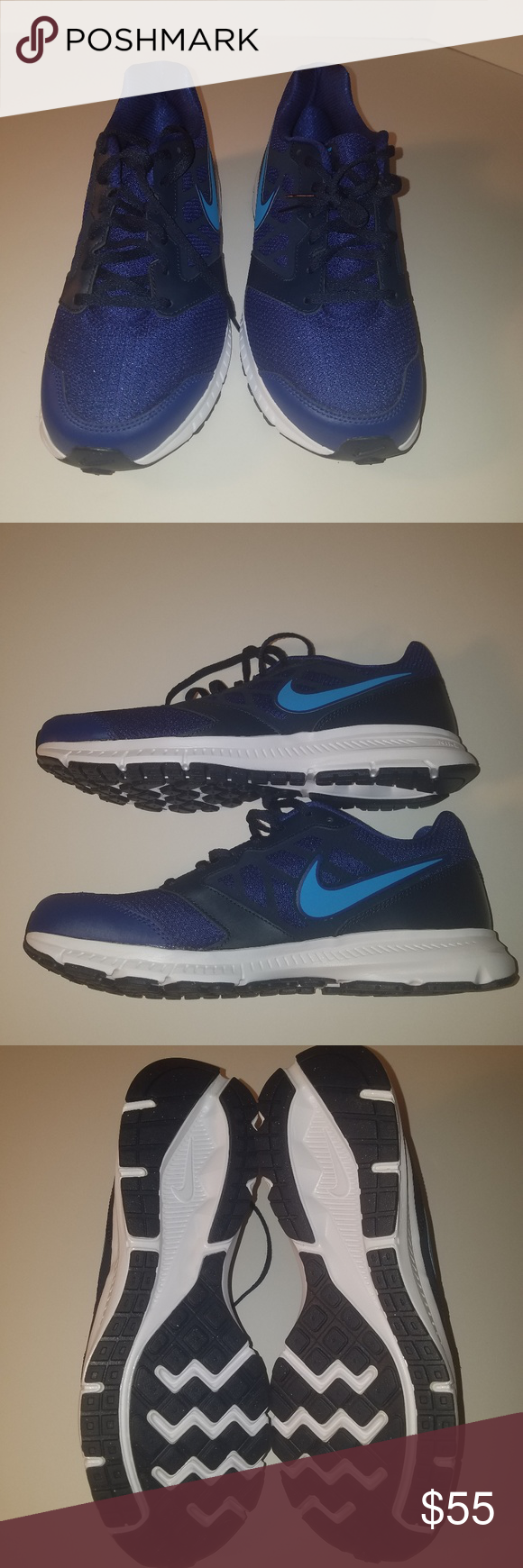 a222f9ac80bb5 Nike downshifter 6 running shoes men Nike Downshifter 6 Men s Running Shoes  Deep Royal Blue 684652 417 Size 11 NEW without box. . Nike Shoes Athletic  Shoes