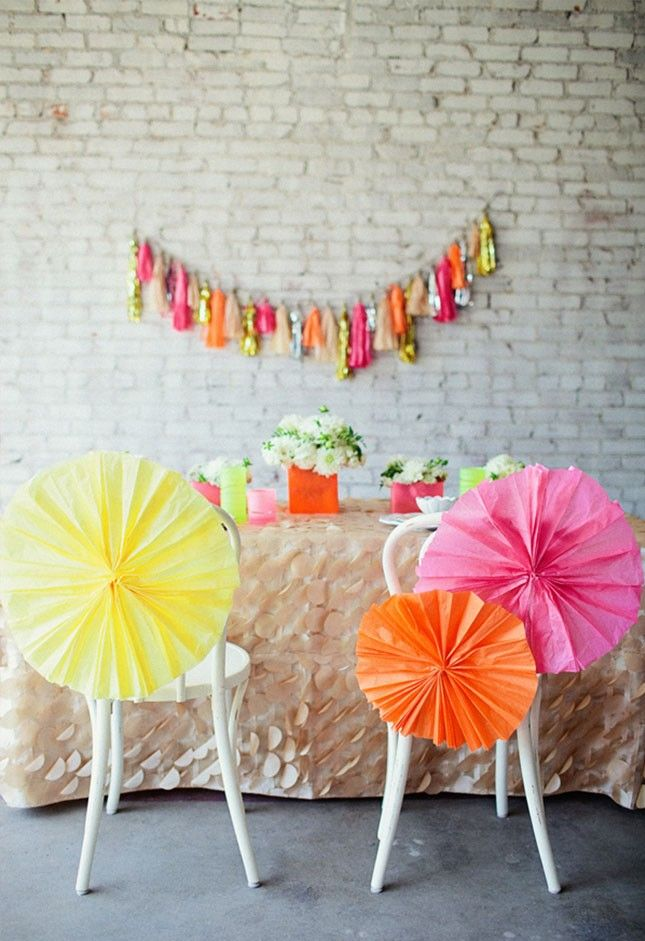 16 bright spring bridal shower ideas via brit co