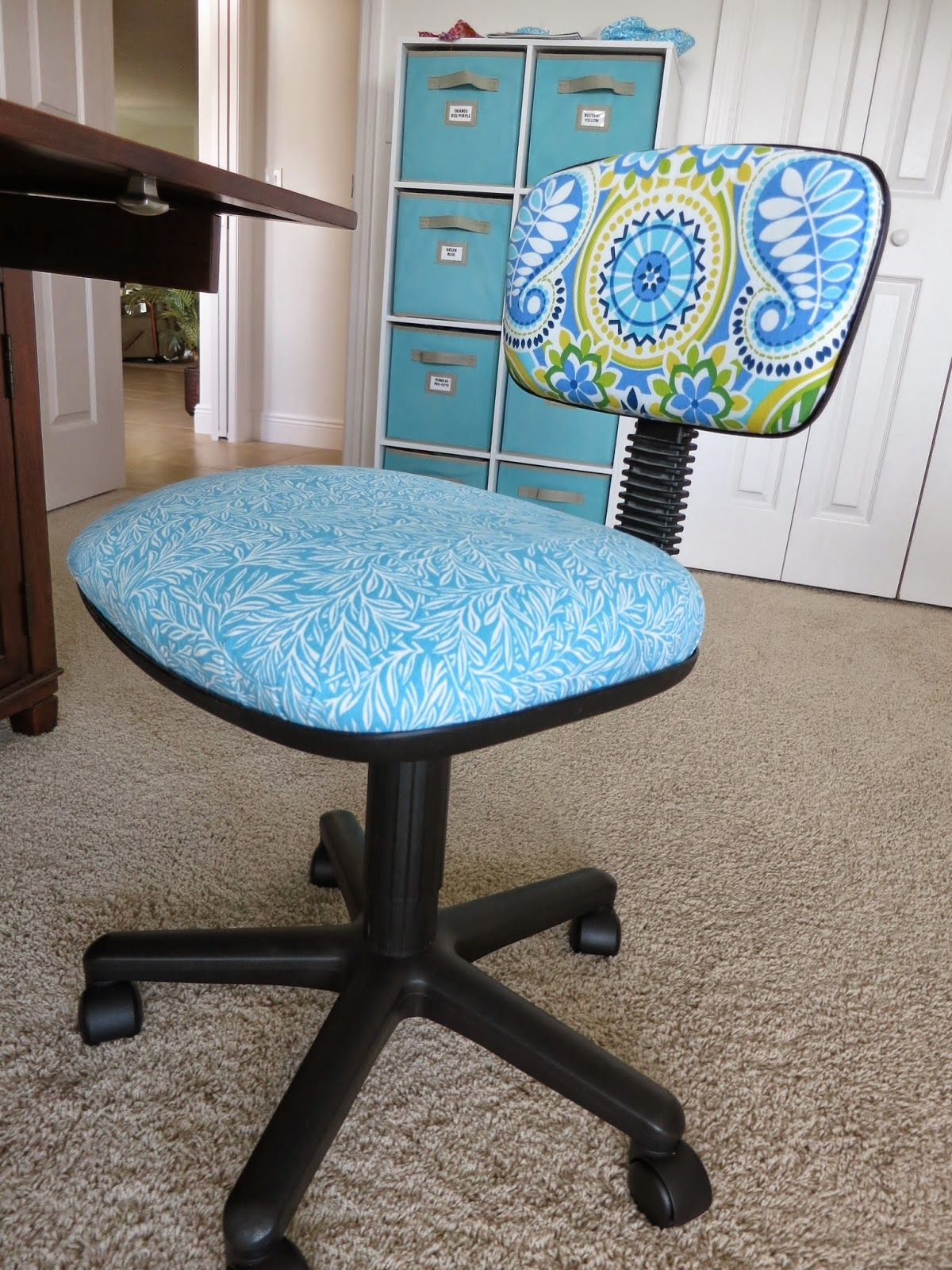 DIY Computer Chair in 2020 Office chair makeover, Chair
