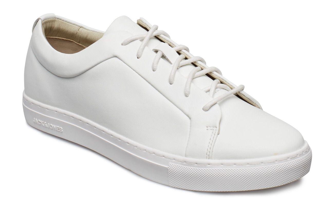 Jfwsputnik fusion leather white sts | Skor, Skor sneakers