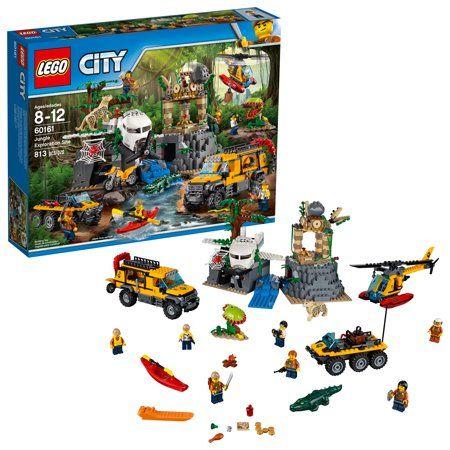 Lego City Jungle Explorers Jungle Exploration Site 60161 Image 1 Of