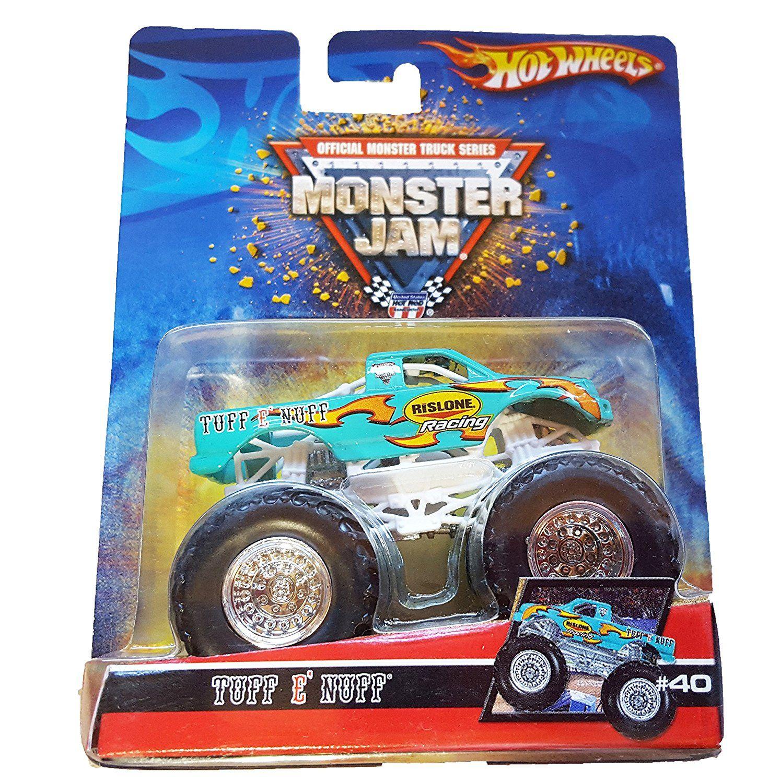 Amazon Com Tuff E Nuff Monster Jam Truck 40 2007 Hot Wheels Hotwheels Toys Games Hot Wheels Monster Trucks Monster Jam