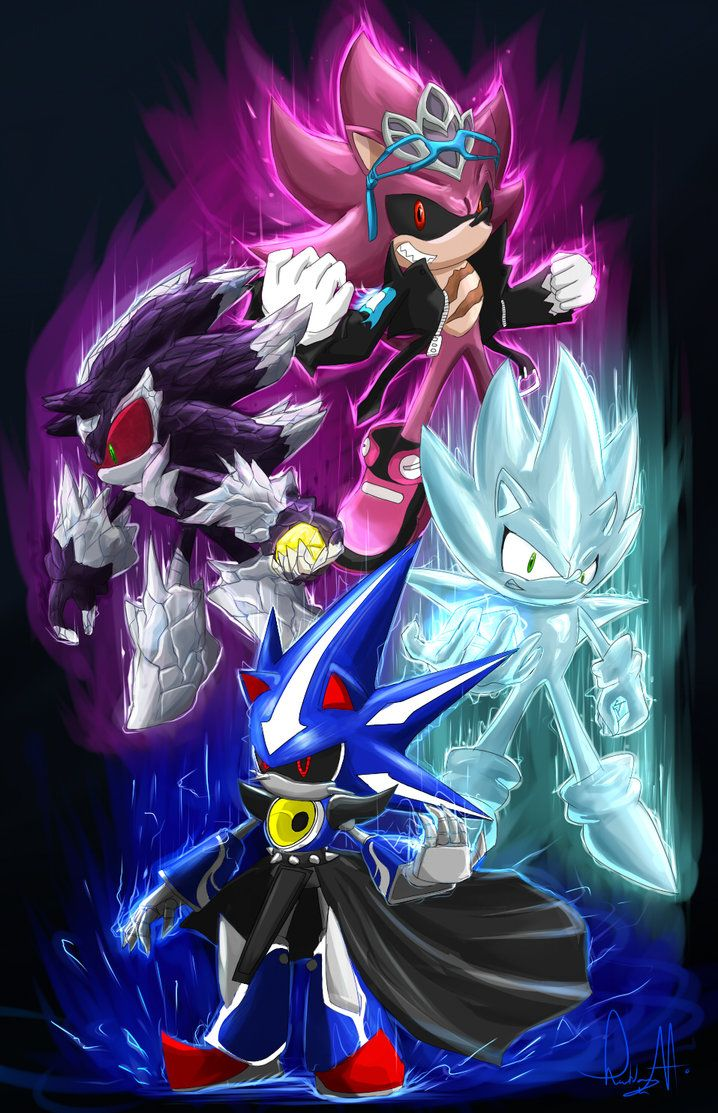 Hedgehog Villains Villains Belong To Sonic Team And Archie Art Done On Sai Hedgehog Art Sonic Fan Characters Sonic Fan Art