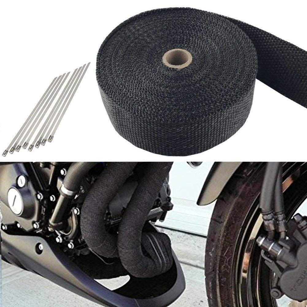 motorcycle fiberglass heat shield tape