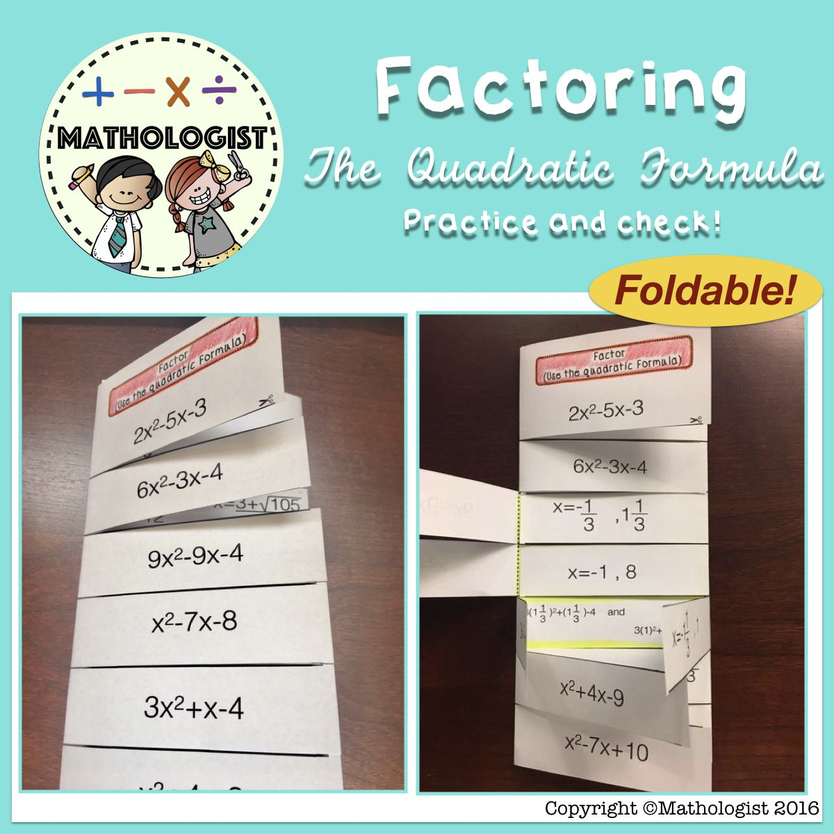 Pin By Mathologist On Factoring