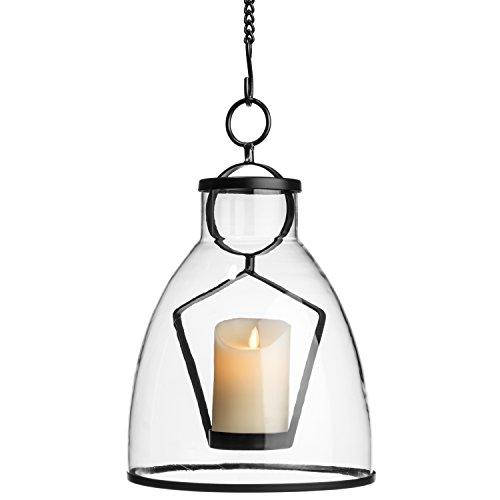 H Potter Hand N Hanging Gl Candle Lantern Indoor