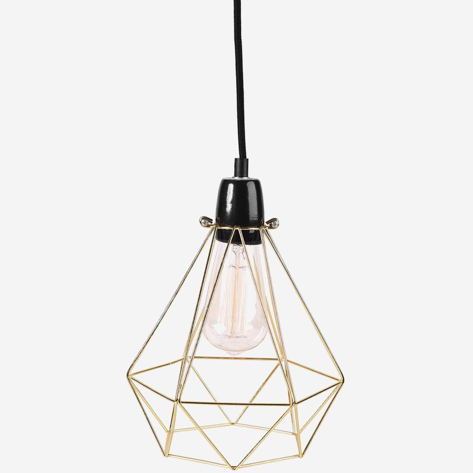 cette lampe diamond 1 de la marque filamentstyle est dot e d 39 une structure en m tal aux. Black Bedroom Furniture Sets. Home Design Ideas