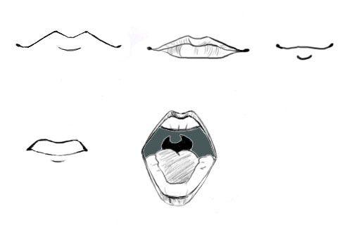 karikaturen zeichnen lernen anleitung f r anf nger. Black Bedroom Furniture Sets. Home Design Ideas