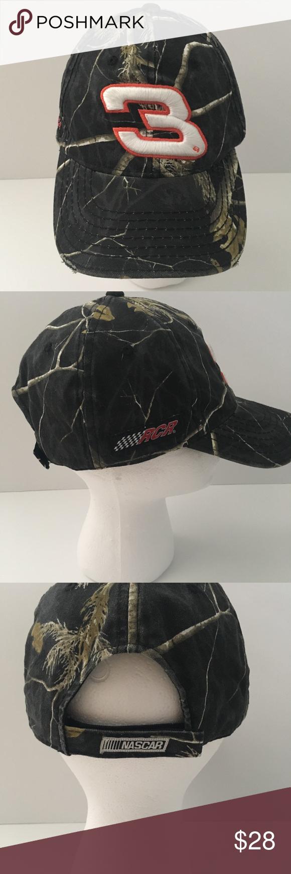 5fb9b49f Official NASCAR Dale Earnhardt Camo Baseball Cap Excellent Condition! #3  Dale Earnhardt NASCAR Baseball Cap! One Size Nascar Accessories Hats
