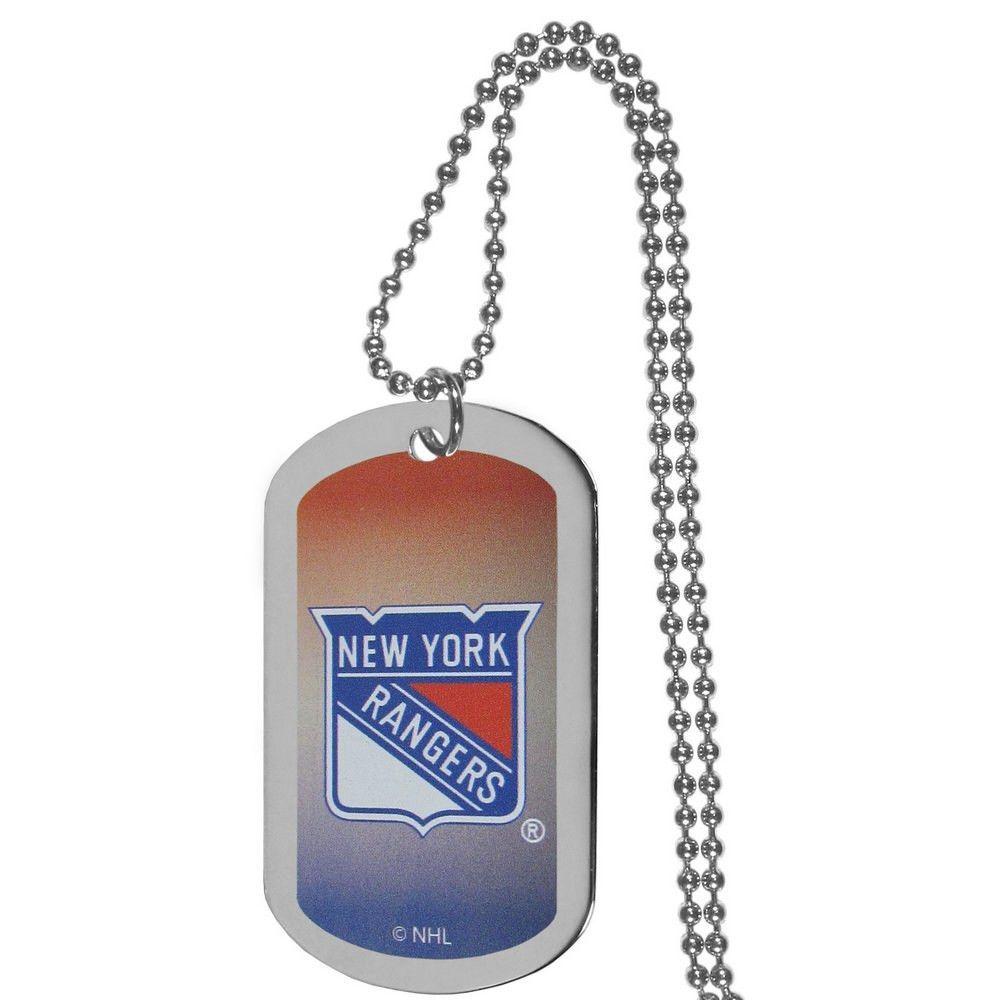 New York Rangers® Team Tag Necklace HTNP105