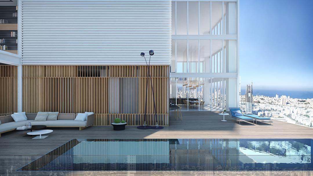 "Pitsou Kedem on Instagram: ""new penthouse in Tel Aviv ..."