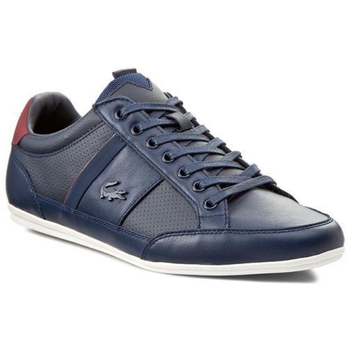 bc2fcdb1581a9 Lacoste shoes Men Sneakers Trainers Lace Up Leather Top Lo Marcel Casual  Remix  Lacoste  Sneakers