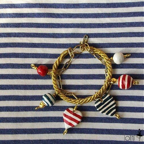 handmade bracelet by loliti * https://www.facebook.com/loliti.studio