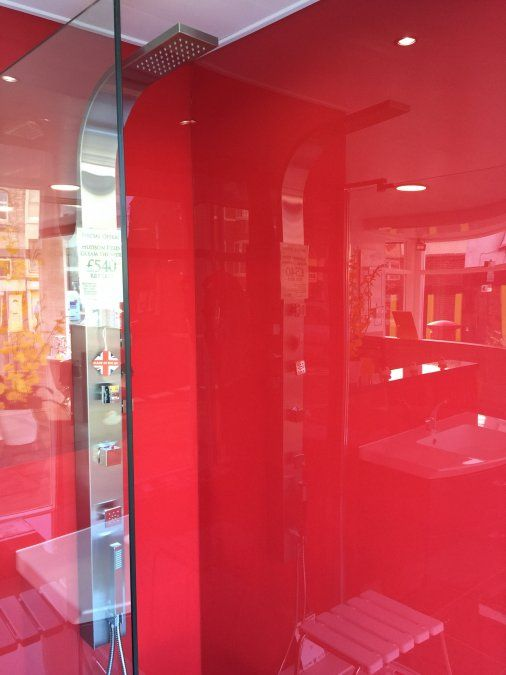 Reflect Red Acrylic Panel By Multipanel Acrylic Ideas In
