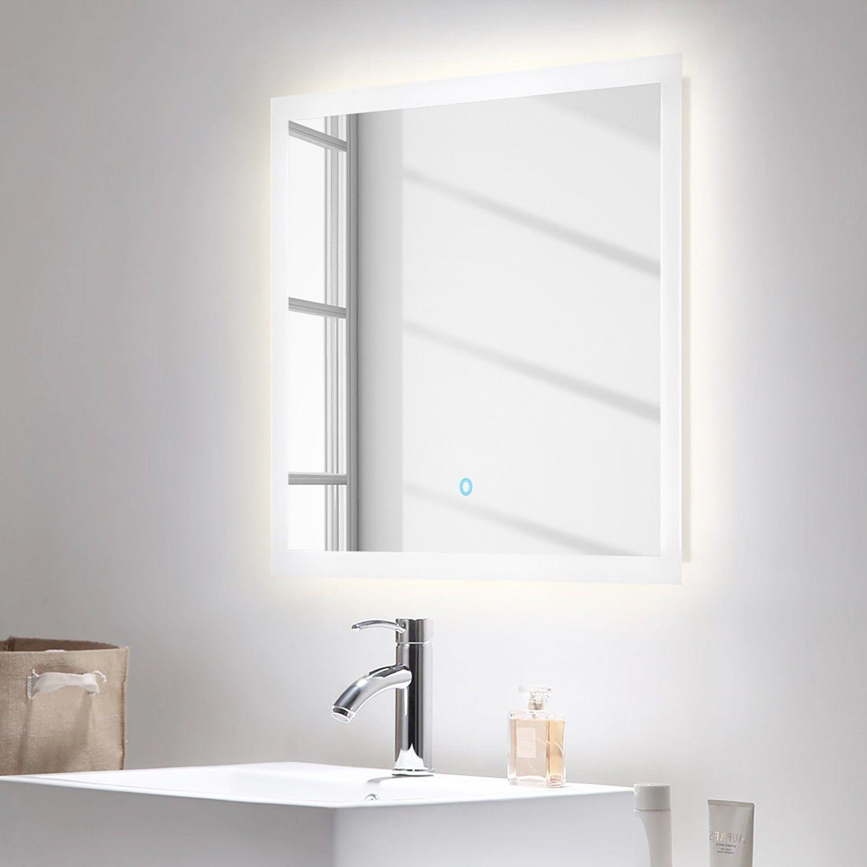Badezimmerset Carpo 2 Teilig Badezimmerlampen Badezimmerspiegel Und Badspiegel