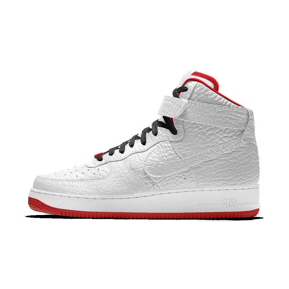 cheap for discount 9e9a1 e6a36 Nike Air Force 1 High Premium iD (Portland Trail Blazers) Men s Shoe Size 6  (White)