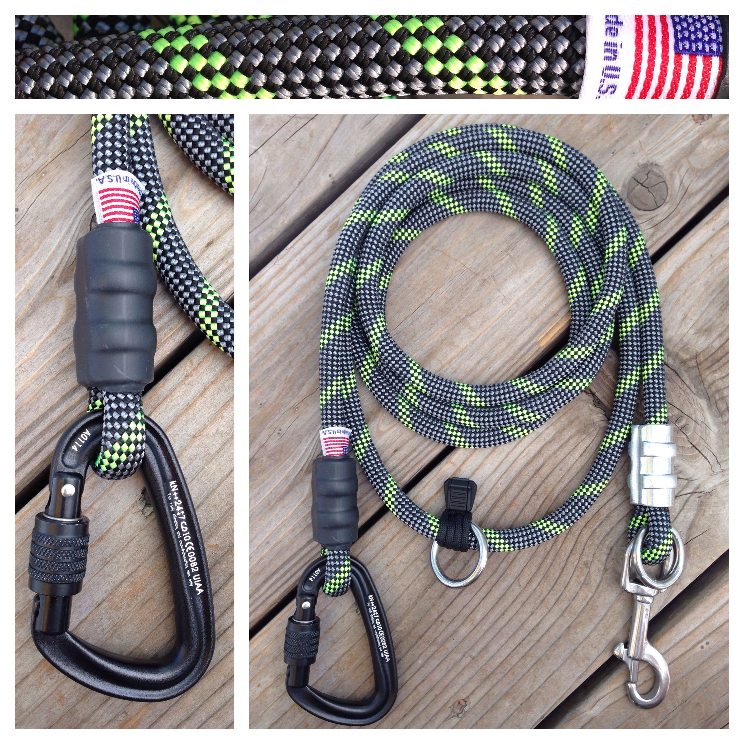 hands free climbing dog leash for joggers and hikers also