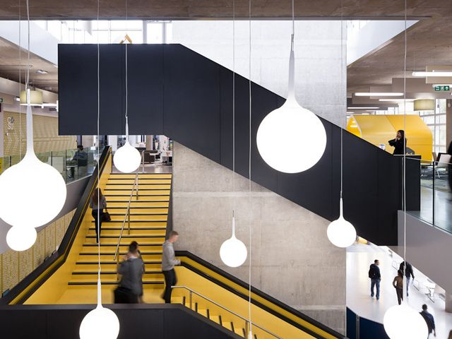 Coventry University Learning Center by Hawkins\Brown