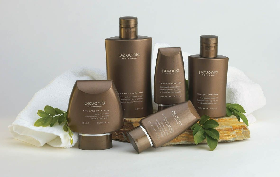 Pevonia Botanica natural skin care for him, helps to maintain skin at home.