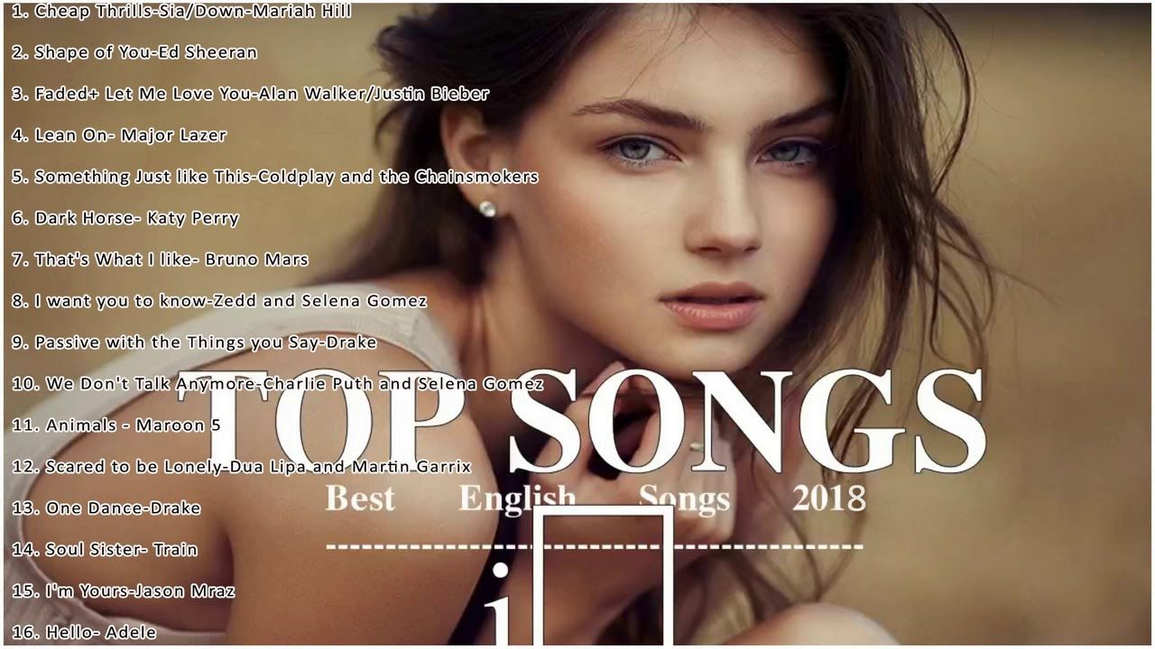 Top Hits 2018 - Best English Songs of 2018 - New Acoustic Mix Of
