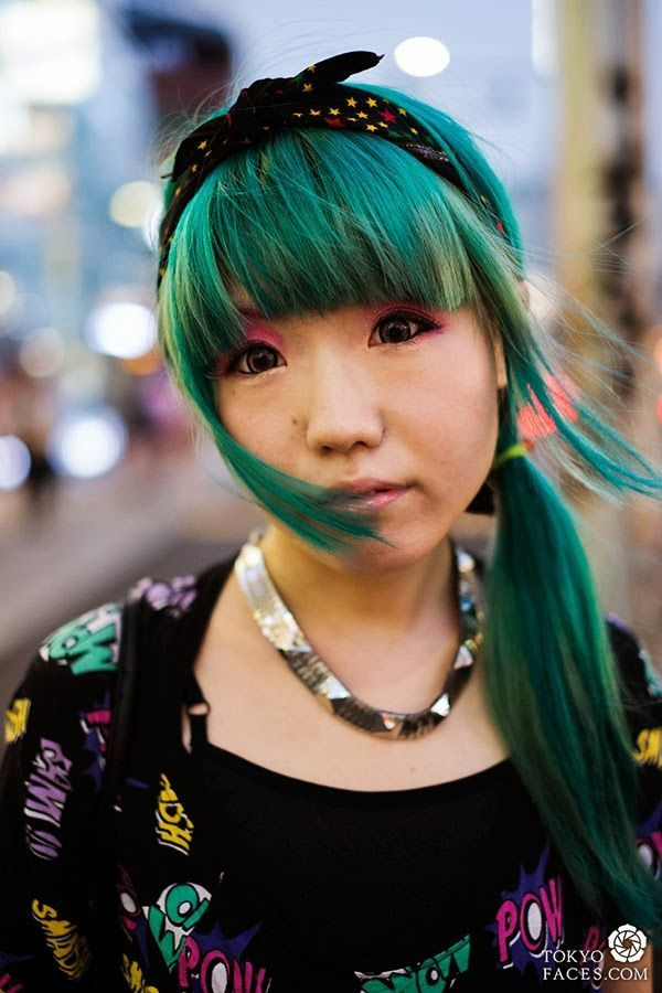 How To Color With Harajuku Hair Style Hair Style