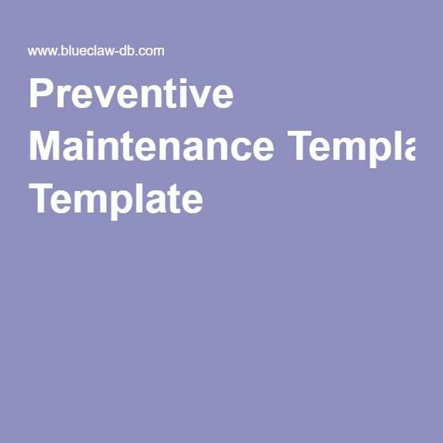 Preventive maintenance software template definition computer preventive maintenance software template definition computer software system managing a set of standard procedures devised pronofoot35fo Gallery