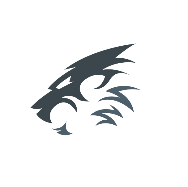 Awesome Mascot Lion Logo Premium Vector Premium Vector Freepik Vector Abstract Nature Animal Cat Lion Logo Lion Art Lion King Art