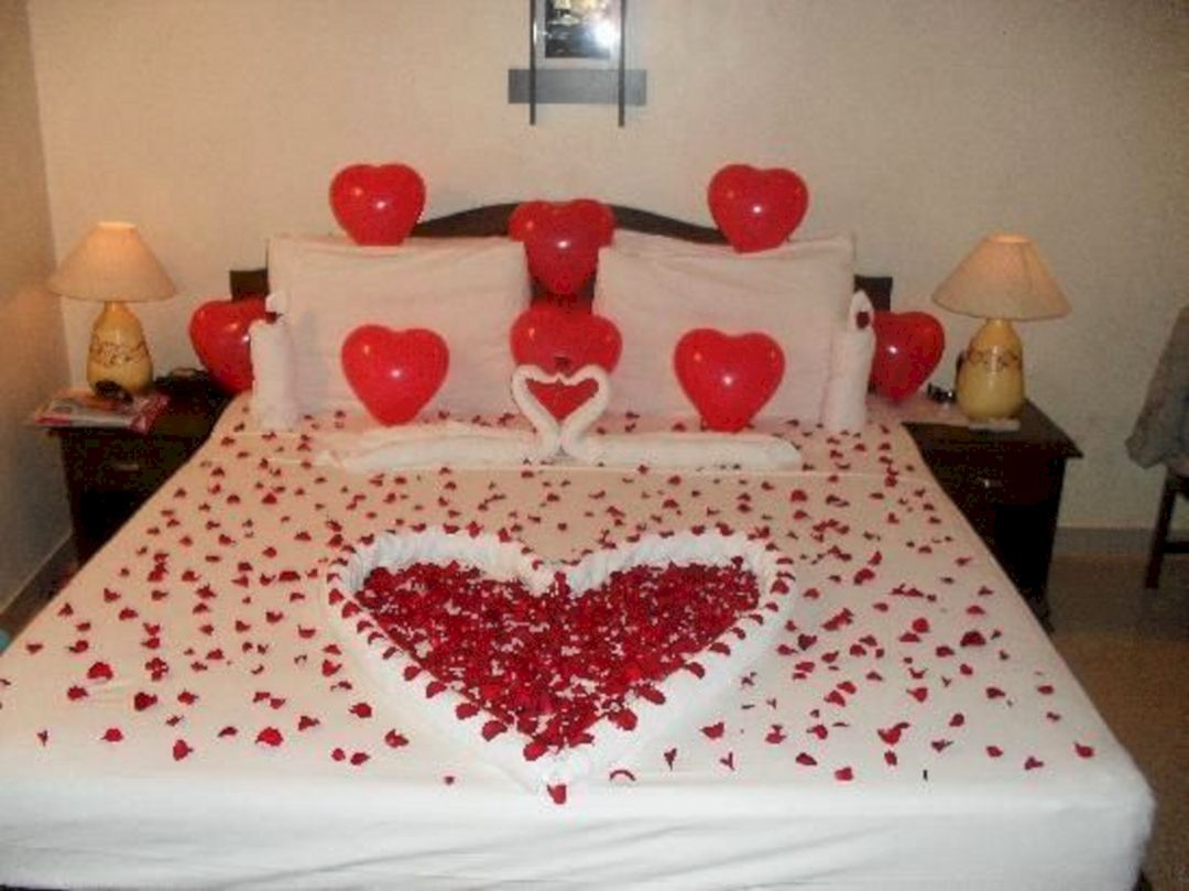 40 Awesome Wedding Night Room Decoration Ideas With Images