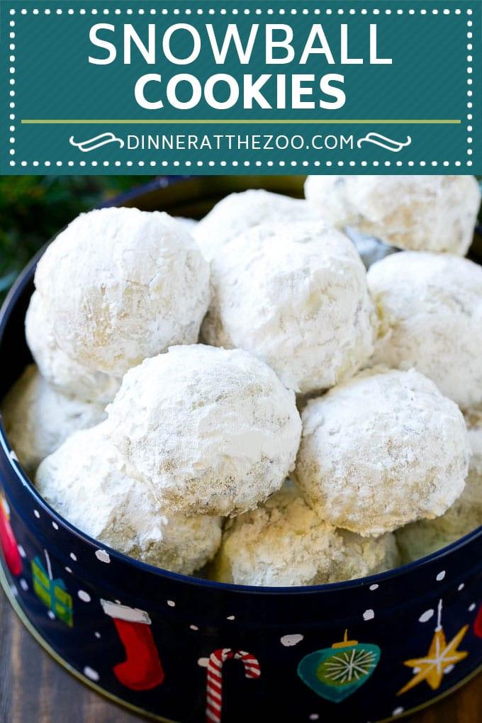 Snowball Cookies Recipe Mexican Wedding Cookies