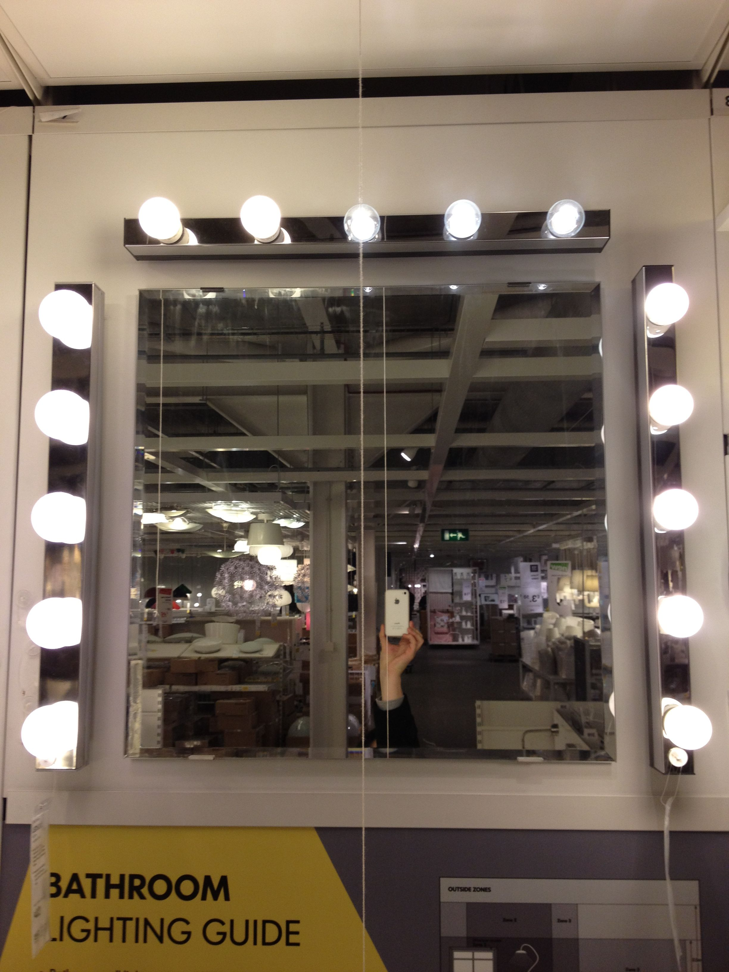 Hollywood Mirror Lights Ikea Hollywood Mirror Ikea Sista 39s Boutique And Studio In 2019