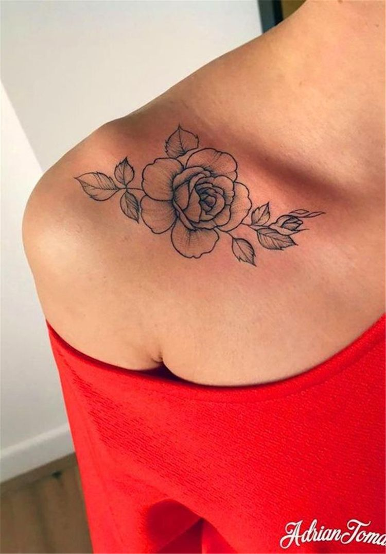 Stunning Floral Shoulder Tattoo Designs You Must Have Floral Tattoo Shoulder Tattoo Floral Shoulder Tattoo Rose Floral Tattoo Shoulder Bone Tattoos Tattoos