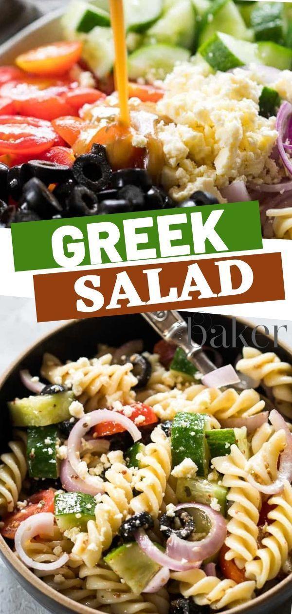 Greek Salad {VIDEO} | i am baker