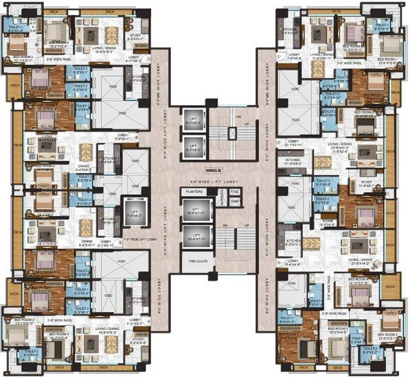 Adani Western Heights Andheri West Mumbai Location Map Price List Floor Site Layout Plan Review Call Arun 919 Mimari Planlari Mimari Mimari Cizim Taslaklari