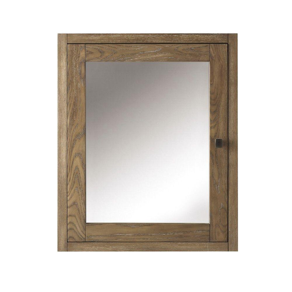 Home Decorators Collection Hamilton 23-3/4 in. W x 27 in. H Framed ...
