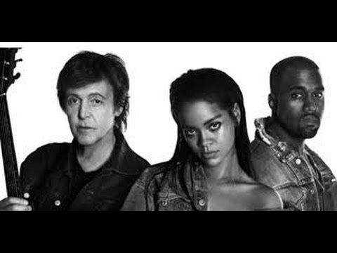 Four Five Seconds Kanye West Paul Mccartney Paul Mccartney Rihanna Four Five Seconds