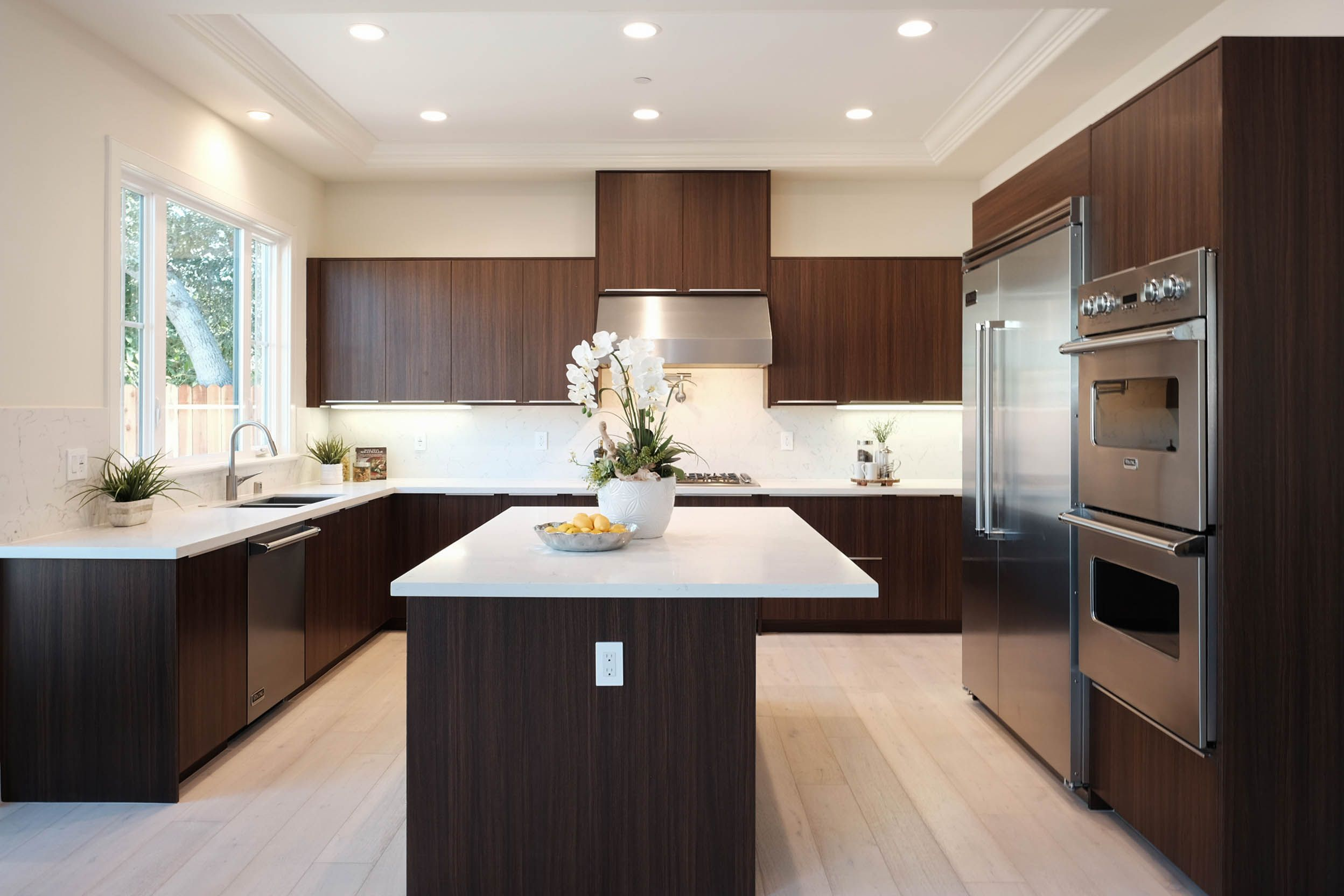 Cocoa Flat Panel Cabinets by Cabinet City #kitchens #flatpanel ...